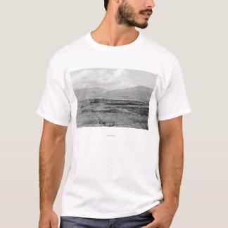 T-shirt Wenatchee, vue de ville de WA et photographie de