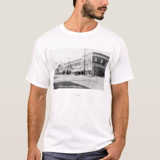 T-shirt Wenatchee, WashingtonView d'avenue de Wenatchee