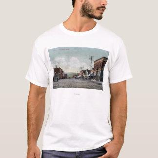 T-shirt Wenatchee, WashingtonView de rue principale