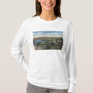 T-shirt Wenatchee, WashingtonView d'Ohme fait du jardinage