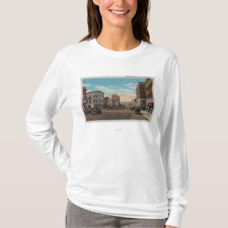 T-shirt Wenatchee, WAView d'avenue de Wenatchee