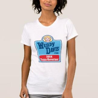 T-shirt Wendy Davis pour le gouverneur 2014 du Texas