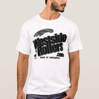 T-shirt Westside Logo2-blck&wht