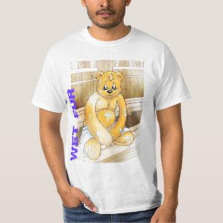 T-shirt Wet Fur