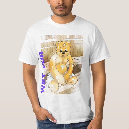 T-shirt Wet Fur