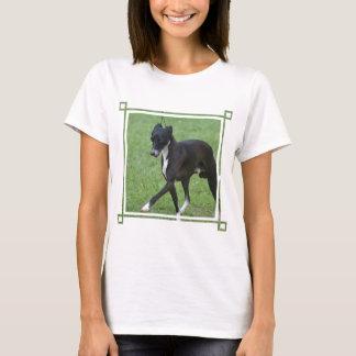 T-shirt Whippet doux