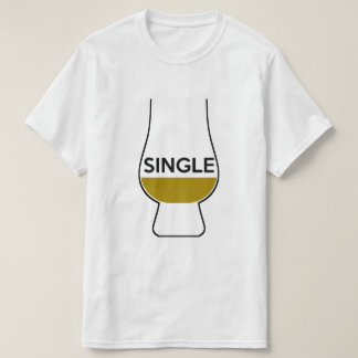 T-shirt Whiskey, simple