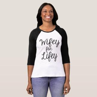 T-shirt Wifey pour Lifey