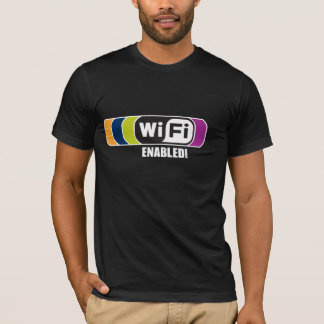 T-shirt WiFi a permis !