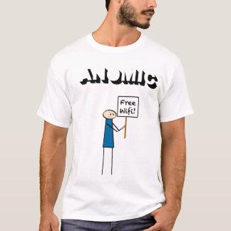 T-shirt WiFi libre