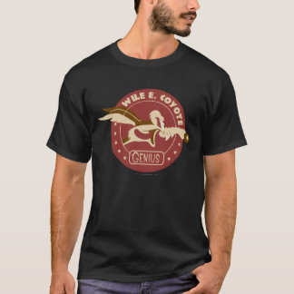 T-shirt Wile E. Coyote Genius