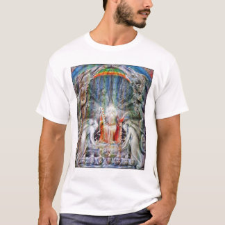 T-shirt William Blake : Avant le trône divin