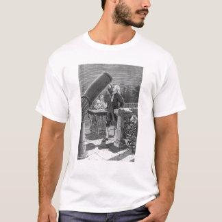 T-shirt William Herschel découvre la planète Uranus