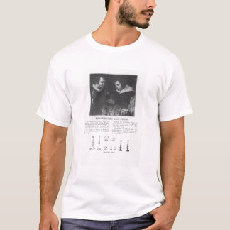 T-shirt William Shakespeare et Ben Jonson