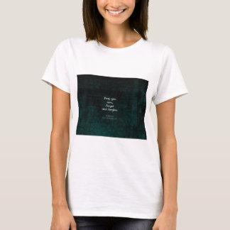T-shirt William Shakespeare oublient et pardonnent la