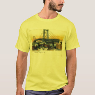 T-shirt Williamsburg Bridge, New York City, cru 1905