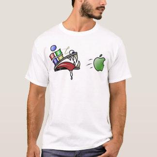 T-shirt win32 veut une pomme