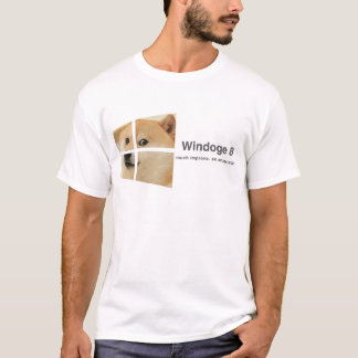 T-shirt Windoge 8