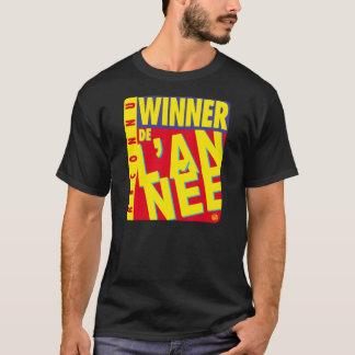 T-shirt Winner de l'année Black