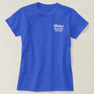 T-shirt Winston Bros. Chemise de magasin auto - Cletus