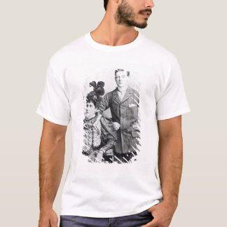 T-shirt Winston Churchill avec le sien mère 2