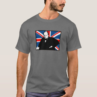 T-shirt Winston Churchill et Union Jack