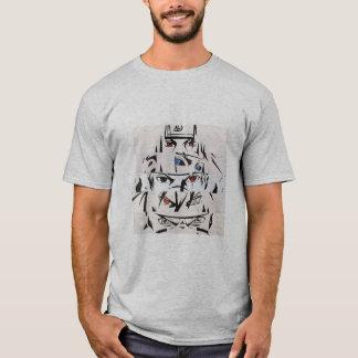 T-shirt Wolf Alpha, Cendre