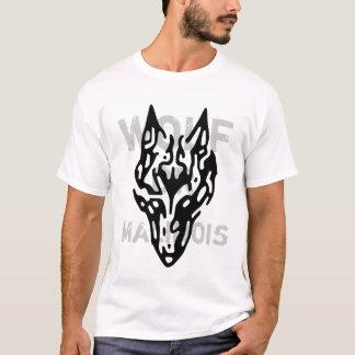 t-shirt wolf or malinois