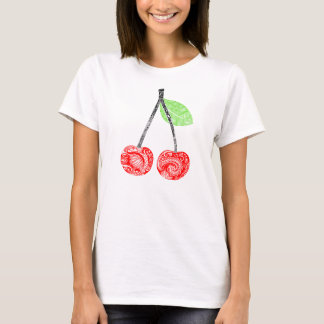 T-shirt woman 2 cherries