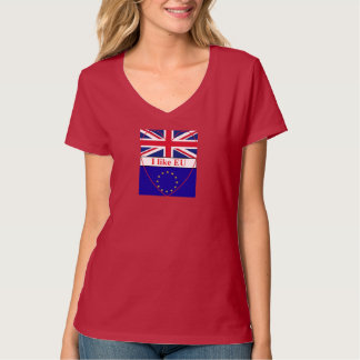 T-shirt Woman I like EU