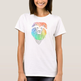 T-shirt woman Lion multicolor