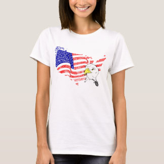 T-shirt woman USA