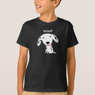 T-shirt Woof dalmatien