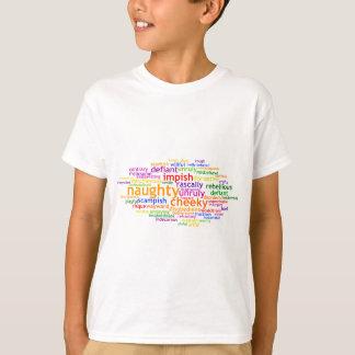 T-shirt Wordle vilain