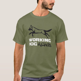 T-SHIRT WORKING DOG K9 PB MALINOIS