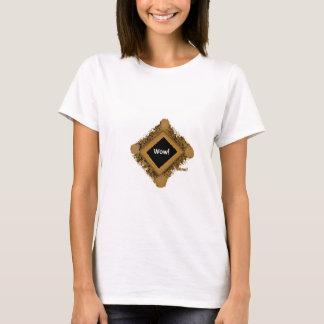 T-shirt Wouah ! capture le moment de l'appréciation