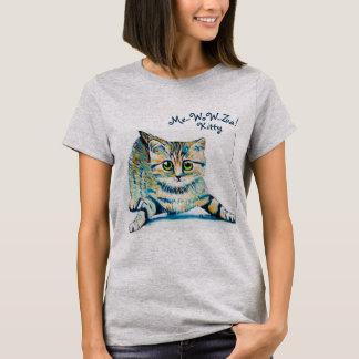 T-shirt -Wow-Za ! La chemise des femmes de Kitty