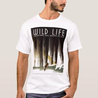 """T-shirt WPA - tee - shirt """"de la vie sauvage"""""""