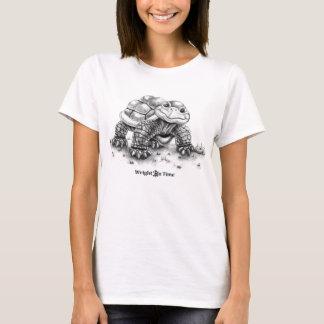 T-shirt Wright à l'heure réserve la tortue