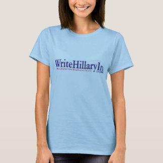 T-shirt WriteHillaryIn.com
