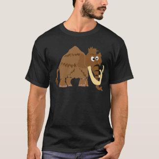 T-shirt WX- art drôle de primitif de mammouth laineux