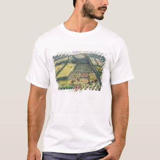 T-shirt Wytham dans le comté de Berkshire a gravé par Joha