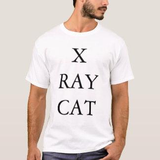 T-shirt X chat de rayon