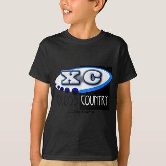 T-shirt XC DEVISE - disparaissent la distance - PAYS
