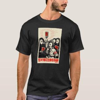 T-shirt XI peu de $$etAPP rouge de Jinping par Badiucao