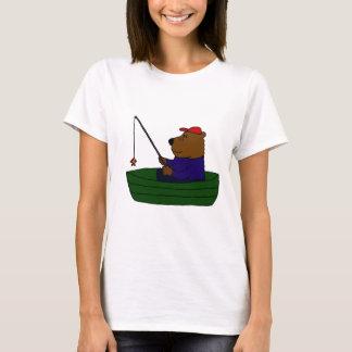T-shirt XX conception drôle de pêche d'ours