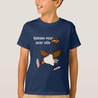 T-shirt XX libération votre idiot intérieur - oie