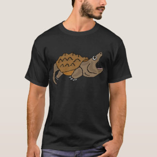 T-shirt XX tortue de rupture impressionnante