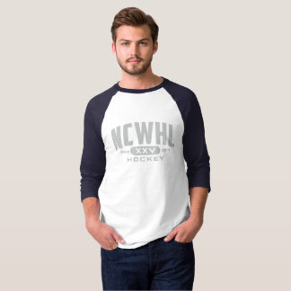 T-shirt XXV hommes de chemise de base-ball de logo