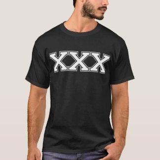 T-shirt XXX blanc de fac